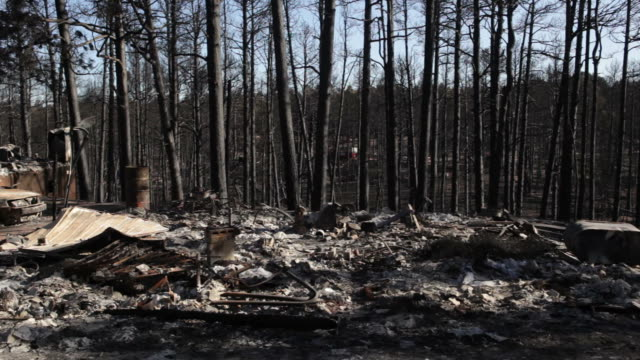 HD Video charred home Black Forest Colorado Springs video