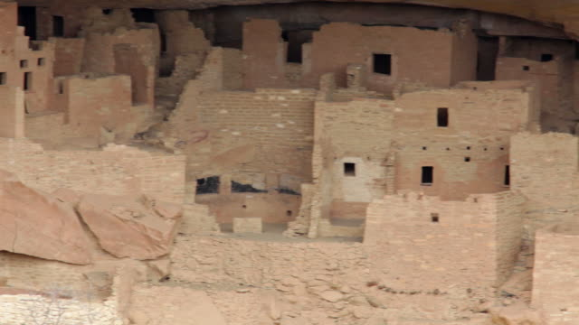 HD video Cliff Palace ruins in Mesa Verde NP Colorado video