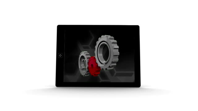 Video file on a tablet