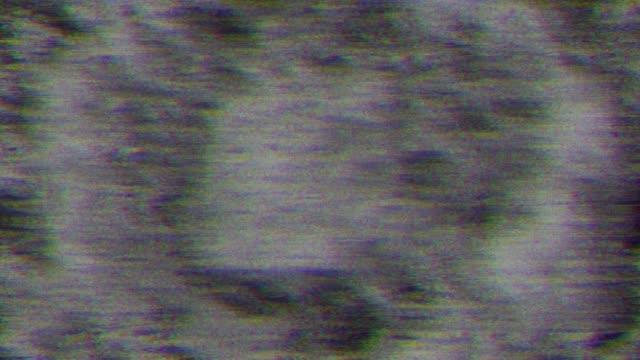 ビデオの不具合。ビデオ画像の歪み - 木目のビデオ点の映像素材/bロール