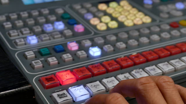 Video mixing console video