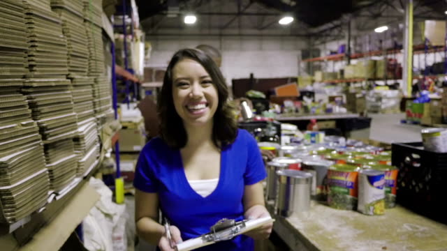 Video montage of volunteers helping people in need with charitable donations video