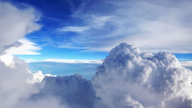Video of beautiful clouds in 4K video