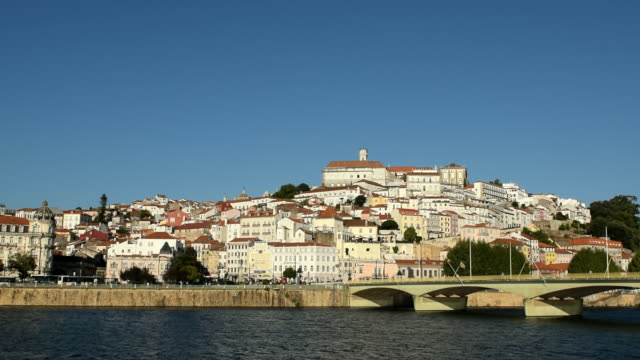 Video of Coimbra city at sunset