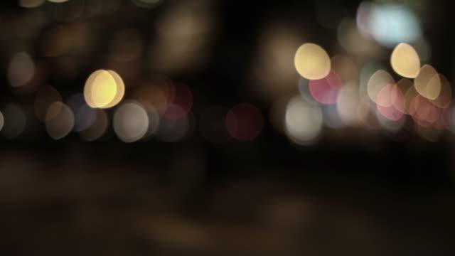 多重都市夜景の 4 K 映像 ビデオ