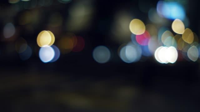 青のトーン多重都市夜景の 4 K 映像 ビデオ