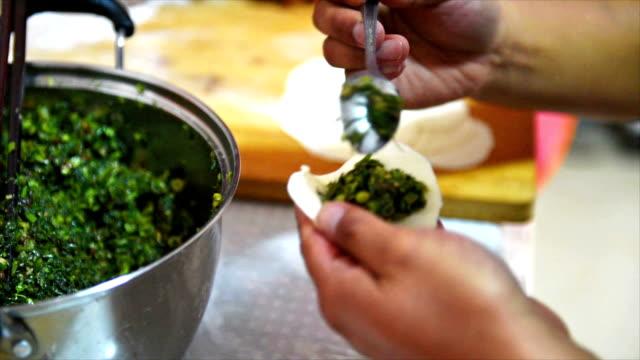 Video of dumplings in China. Video of dumplings in China. fat nutrient stock videos & royalty-free footage
