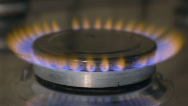 Video of gas stove in 4K video