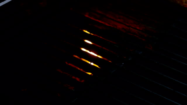 Video of grill in real slow motion video