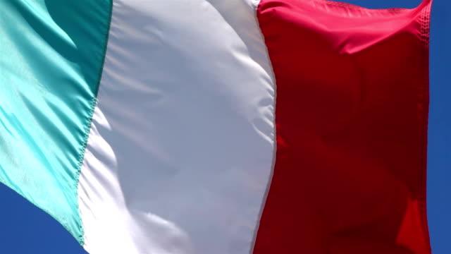 Video of Italian Flag in 4K video