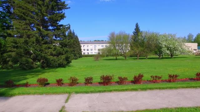 ノボシビルスク植物園春シーズンでの移動のビデオ ビデオ