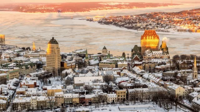 Video Video of old Quebec city.