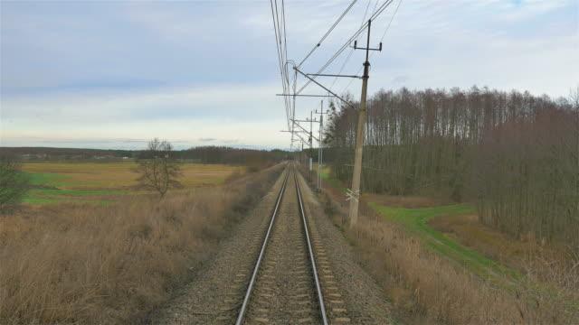 Video of railroad track in 4K video