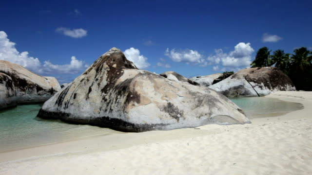 video of the beach at Spring Bay, Virgin Gorda, BVI video