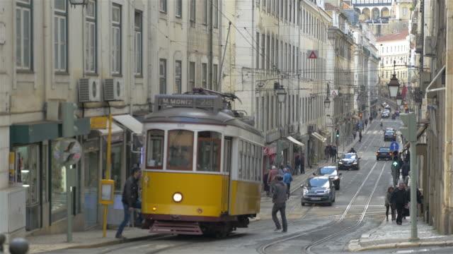 Video of tram in 4K