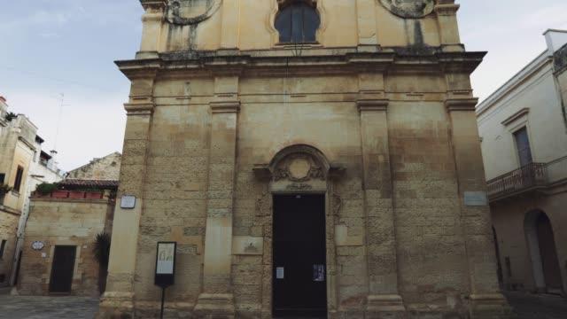 video postcards from lecce, puglia, italy - lecce video stock e b–roll