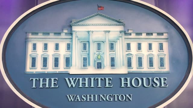 stockvideo's en b-roll-footage met video/seal van het witte huis - white house