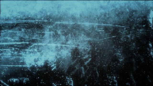 Video Surveillance Grunge video