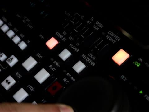 Video Tape Editing NTSC video
