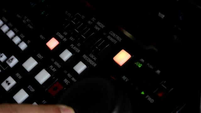 Video Tape Editing video