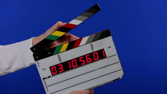 vidéos et rushes de vidéo time code ardoise incrustation en chrominance-ajoute ton nom - ardoise