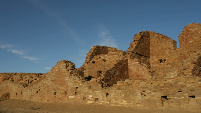 HD video time lapse ancient ruins Chaco Canyon NHP video