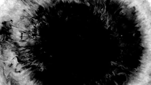 vídeos y material grabado en eventos de stock de relleno de máscara de tinta de transición de vídeo - forma