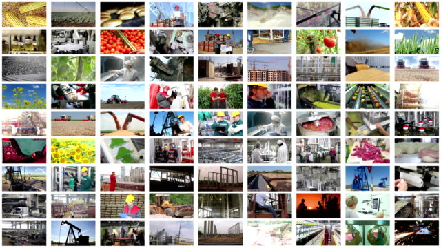 videowand montage industrieller produktion - montage filmtechnik stock-videos und b-roll-filmmaterial