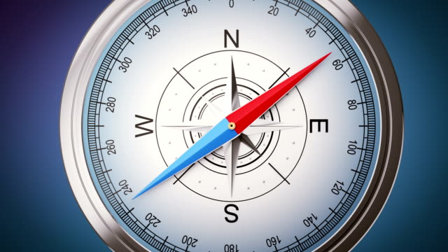 Video with compass. Green screen version included navigational compass stock videos & royalty-free footage