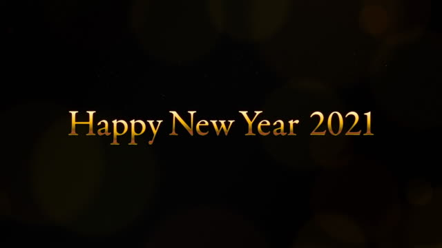 Video with the word Happy New Year 2021 in it. Video with the word Happy New Year 2021 in it. happy new year 2021 stock videos & royalty-free footage