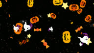 istock 4K videos Halloween character play (transparent background) 1273921683