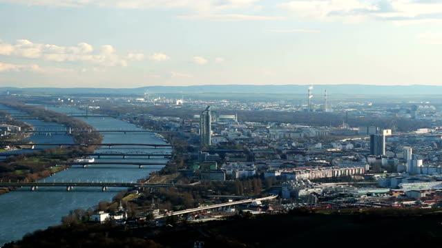 Vienna Aerial View video