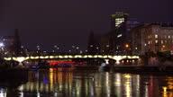 istock Vienna at night with bridge 1315414974