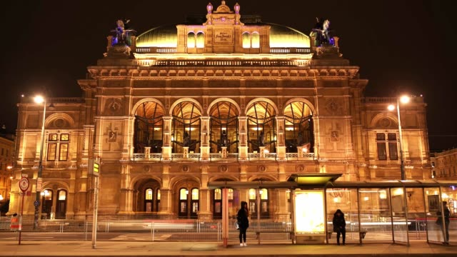 Viennese Opera House, Vienna, Austria. Viennese Opera House, Vienna, Austria. musical theater stock videos & royalty-free footage