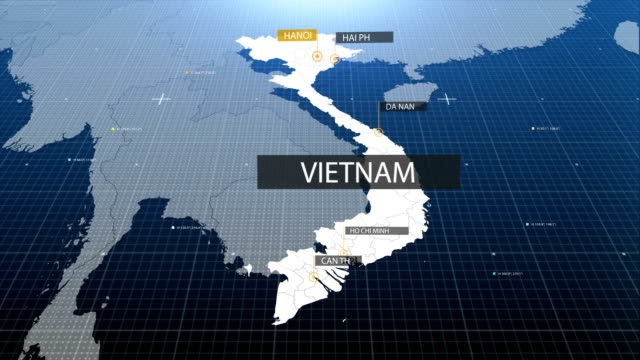 vietnam map with label then with out label video