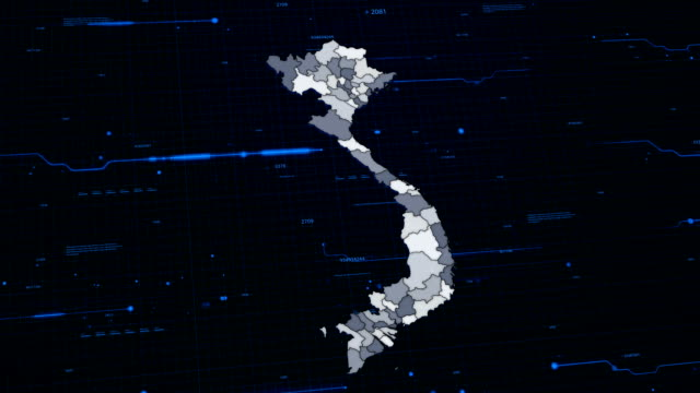 Vietnam network map video