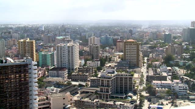 View across Dar es Salaam, Tanzania Dar es Salaam, Tanzania tanzania stock videos & royalty-free footage