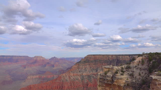 View at Grand Canyon in motion in slow motion 120fps
