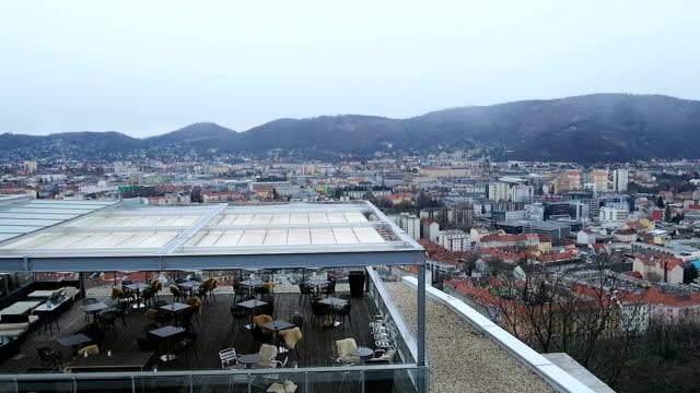 view at viewpoint graz ,austria - steiermark bildbanksvideor och videomaterial från bakom kulisserna
