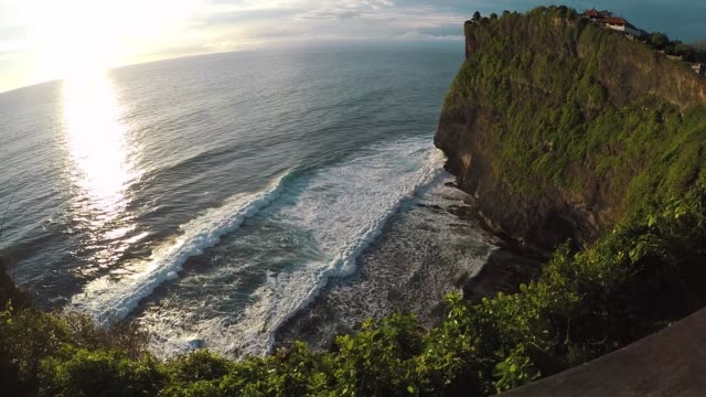 View from above. Uluwatu, Bali, Indonesia View from above. Uluwatu, Bali Indonesia Slowmo southeast stock videos & royalty-free footage