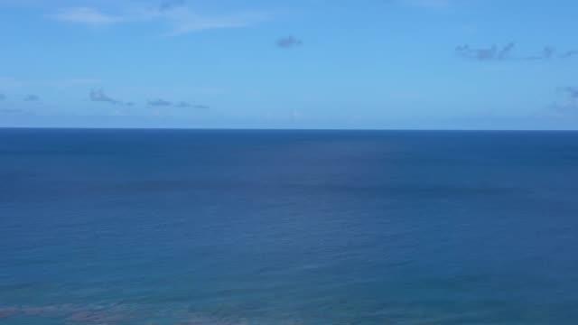 View from Cape Shiratori of Irabu island, Okinawa, Japan video