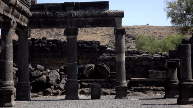 View From Entrance of Remains of Ancient Black Synagogue video