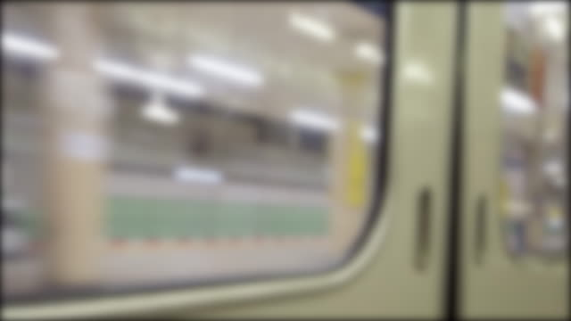 4K view from inside train