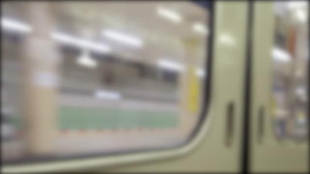 4K view from inside train 4K view from inside train subway train stock videos & royalty-free footage