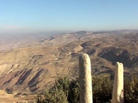 stockvideo's en b-roll-footage met view from moses monument - heilig geschrift