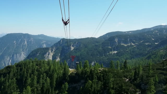 View from Obertraun (Salzkammergut region) video