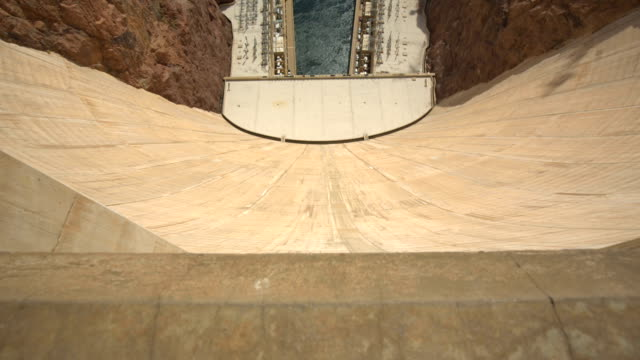 View from Over the Edge of the Hoover Dam video