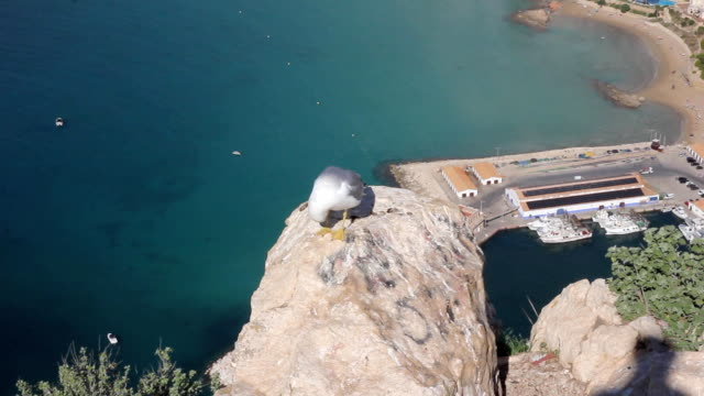view from penon de ifach in Calpe Spain video