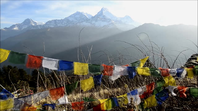 View from Poon hill, Nepal video