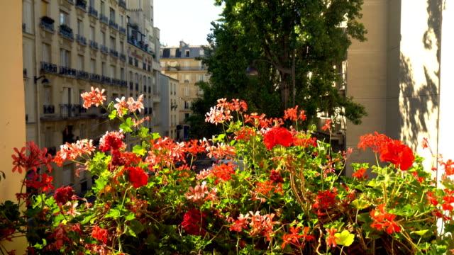 Blick vom Zimmer in Paris – Video